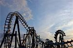 Rollercoaster, Paramount Canada's Wonderland, Ontario, Canada Stock Photo - Premium Rights-Managed, Artist: Rommel, Code: 700-03443844