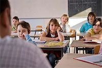 Teacher and Students in Classroom Stock Photo - Premium Rights-Managednull, Code: 700-03445111