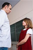 student fighting - Student and Teacher Facing One Another Stock Photo - Premium Rights-Managednull, Code: 700-03445116