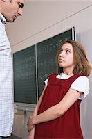 student fighting - Student and Teacher Facing One Another Stock Photo - Premium Rights-Managednull, Code: 700-03445117