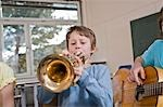 Students in Music Class Stock Photo - Premium Rights-Managed, Artist: Uwe Umstätter, Code: 700-03445124