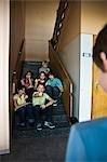 Group of Students Teasing a Classmate Stock Photo - Premium Rights-Managed, Artist: Uwe Umstätter, Code: 700-03445134