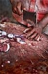 Butcher Chopping Beef, Kochi, Kerala, India Stock Photo - Premium Rights-Managed, Artist: Edward Pond, Code: 700-03445342