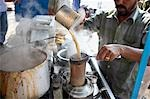 Chai Wallah Pouring Masala Chai, India Stock Photo - Premium Rights-Managed, Artist: Edward Pond, Code: 700-03445347