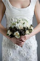 special moment - Close-up of Bride's Bouquet Stock Photo - Premium Royalty-Freenull, Code: 600-03445542