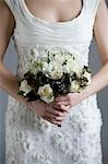 Close-up of Bride's Bouquet Stock Photo - Premium Royalty-Free, Artist: Siephoto, Code: 600-03445542