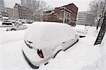 Cars Buried in Snow, Canada Stock Photo - Premium Rights-Managed, Artist: Jean-Yves Bruel, Code: 700-03445533