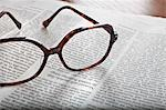 Eyeglasses on Newspaper Stock Photo - Premium Rights-Managed, Artist: Ursula Klawitter, Code: 700-03445571