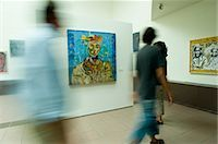 exhibition - Patrons in Art Gallery, Duluth, Minnesota, USA Stock Photo - Premium Rights-Managednull, Code: 700-03445628