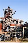 Smelting Structures at Landschaftspark Duisburg-Nord, Duisburg, North Rhine-Westphalia, Germany Stock Photo - Premium Rights-Managed, Artist: F. Lukasseck, Code: 700-03445791