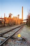 Smelting structures at Landschaftspark Duisburg-Nord, Duisburg, North Rhine-Westphalia, Germany Stock Photo - Premium Rights-Managed, Artist: F. Lukasseck, Code: 700-03445794
