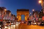 Arc de Triomphe, Champs Elysees, 8th Arrondissement, Paris, Ile-de-France, France Stock Photo - Premium Rights-Managed, Artist: Mike Randolph, Code: 700-03445917
