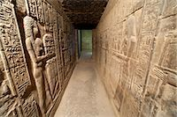 egyptian hieroglyphics - Hallway with Hieroglyphs, Abydos, Egypt Stock Photo - Premium Rights-Managednull, Code: 700-03445927