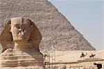 Great Sphinx and Pyramid, Giza, Egypt Stock Photo - Premium Rights-Managed, Artist: Mark Downey, Code: 700-03445960