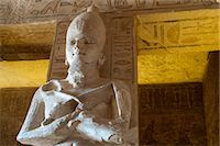 egyptian hieroglyphics - Statue in The Great Temple at Abu Simbel, Nubia, Egypt Stock Photo - Premium Rights-Managednull, Code: 700-03445973