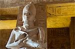 Statue in The Great Temple at Abu Simbel, Nubia, Egypt Stock Photo - Premium Rights-Managed, Artist: Mark Downey, Code: 700-03445973
