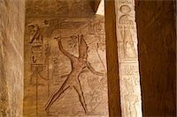 egyptian hieroglyphics - Hierglyphs in Great Temple, Abu Simbel, Nubia, Egypt Stock Photo - Premium Rights-Managednull, Code: 700-03445975