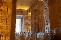 egyptian hieroglyphics - Tourists in Temple at Abu Simbel, Nubia, Egypt Stock Photo - Premium Rights-Managednull, Code: 700-03445976