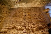 egyptian hieroglyphics - Hieroglyphs in Great Temple at Abu Simbel, Nubia, Egypt Stock Photo - Premium Rights-Managednull, Code: 700-03445977