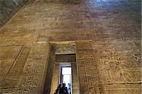 egyptian hieroglyphics - Temple of Horus, Edfu, Egypt Stock Photo - Premium Rights-Managednull, Code: 700-03445994