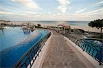 Swimming Pool and Walkway at Resort, Baja, Mexico Stock Photo - Premium Rights-Managed, Artist: Mark Downey, Code: 700-03446070