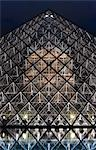 Pyramid in front of Louvre, Paris, France Stock Photo - Premium Rights-Managed, Artist: Hugh Burden, Code: 700-03446087