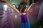 Girl Wearing Fairy Costume, Whidbey Island, Washington, USA Stock Photo - Premium Rights-Managed, Artist: Mark Downey, Code: 700-03446119