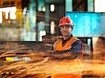 Steel Engineer With Sparks Stock Photo - Premium Royalty-Free, Artist: Science Faction, Code: 649-03448435