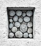 Rocks in Concrete Block Stock Photo - Premium Rights-Managed, Artist: David Muir, Code: 700-03448789