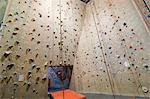 Rock Climbing Wall Stock Photo - Premium Rights-Managed, Artist: Christopher Gruver, Code: 700-03451065