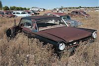 Old, Abandoned Cars in Junk Yard, Desert Southwest, Southwestern United States, USA Stock Photo - Premium Rights-Managednull, Code: 700-03451076