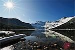 Cameron Lake, Waterton Lakes National Park, Alberta, Canada Stock Photo - Premium Rights-Managed, Artist: Jochen Schlenker, Code: 700-03451153