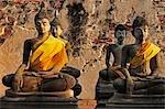Buddha Statues, Wat Phutthai Sawan, Ayutthaya, Thailand
