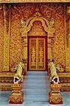 Entrance to Wat Phra That Lampang Luang, Ko Kha, Lampang Province, Thailand Stock Photo - Premium Rights-Managed, Artist: Jochen Schlenker, Code: 700-03451219