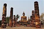Wat Phra Si Mahathat, Sukhothai Historical Park, Sukhothai, Thailand
