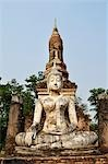 Buddha Statue, Wat Tra Phang Ngoen, Sukhothai Historical Park, Sukhothai, Thailand