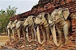 Wat Sorasak, Sukhothai Historical Park, Sukhothai, Thailand