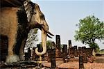 Wat Chang Lom, Sukhothai Historical Park, Sukhothai, Thailand