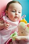 Baby Girl Playing with Doll Stock Photo - Premium Rights-Managed, Artist: John Ferrentino, Code: 700-03451281