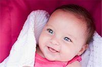Baby Girl Smiling Stock Photo - Premium Rights-Managednull, Code: 700-03451283