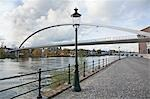 De Hoge Bridge, Meuse River, Maastricht, Limburg Province, Netherlands Stock Photo - Premium Rights-Managed, Artist: Tomasz Rossa, Code: 700-03451534