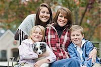 Portrait of Family Stock Photo - Premium Rights-Managednull, Code: 700-03451551
