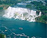 Aerial view of the American Falls, Niagara Falls, New York State, USA, North America Stock Photo - Premium Rights-Managed, Artist: Robert Harding Images, Code: 841-03454249