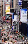High angle view of Broadway and Times Square, Manhattan, New York City, New York, United States of America, North America Stock Photo - Premium Rights-Managed, Artist: Robert Harding Images, Code: 841-03454397