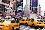 Taxis and traffic in Times Square, Manhattan, New York City, New York, United States of America, North America Stock Photo - Premium Rights-Managed, Artist: Robert Harding Images, Code: 841-03454406