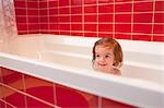 Girl in Bathtub Stock Photo - Premium Rights-Managed, Artist: Ty Milford, Code: 700-03455593