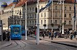 View of Jelacic Square, Zagreb, Croatia Stock Photo - Premium Rights-Managed, Artist: Damir Frkovic, Code: 700-03456444