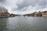 Pont des Arts, River Seine, Paris, Ile-de-France, France Stock Photo - Premium Rights-Managednull, Code: 700-03456732