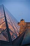 IM Pei Pyramid, Louvre, 1st Arrondissement, Paris, Ile-de-France, France Stock Photo - Premium Rights-Managed, Artist: Tomasz Rossa, Code: 700-03456739