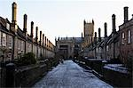 Vicars' Close and Wells Cathedral, Wells, Somerset, England Stock Photo - Premium Rights-Managed, Artist: Puzant Apkarian, Code: 700-03458155
